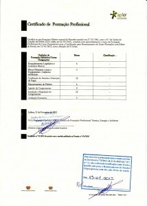 Formação para Técnico de Manuseamento de Gases Fluorados 2012